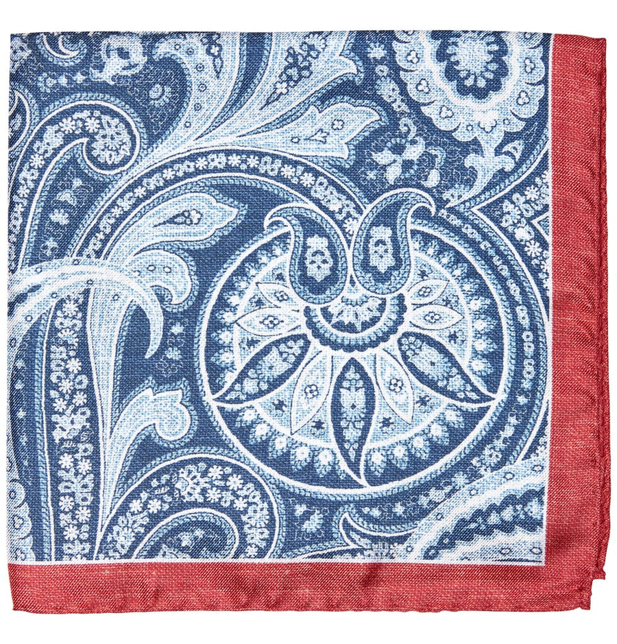 Cotton and Silk Pocket Squares | Men's Clothing Store