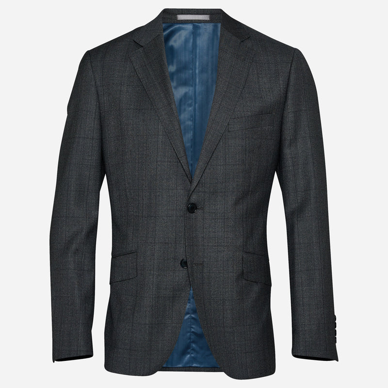 Sagasta Grey Check Wool Suit | Men's Suit Stores