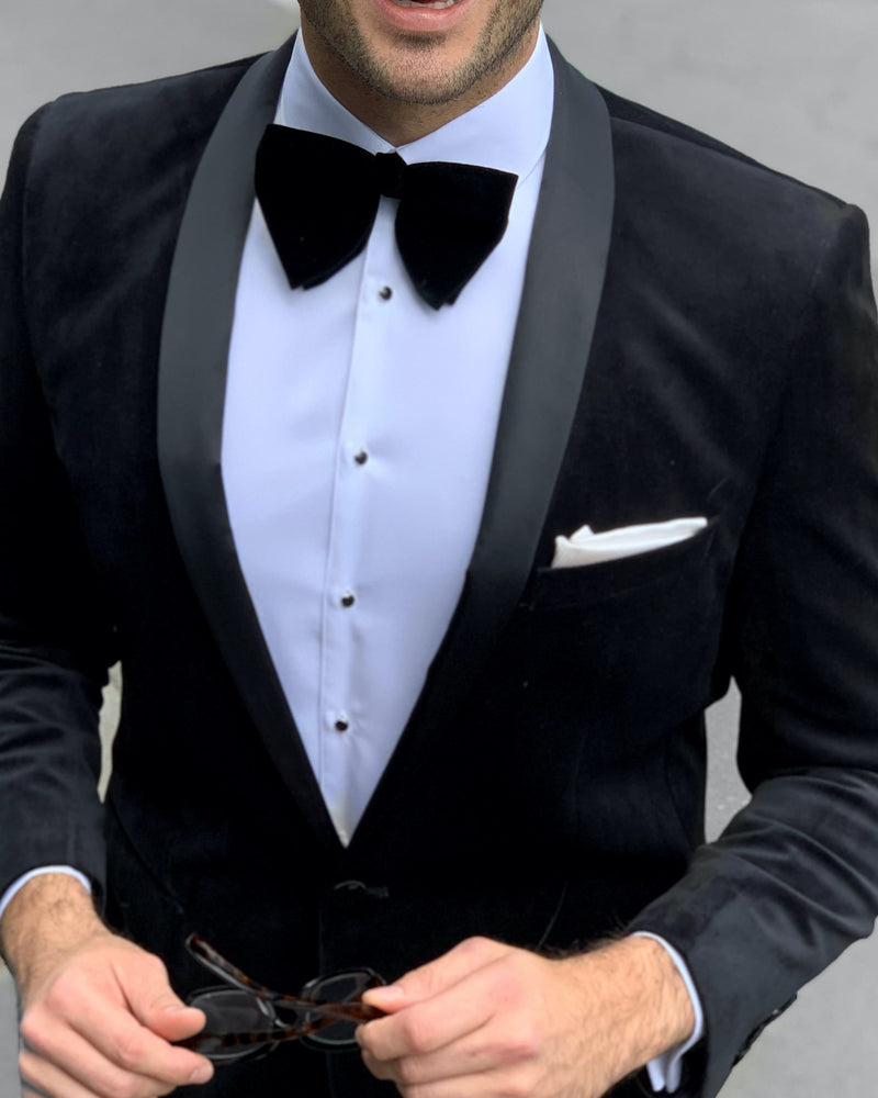 Black Velvet Dinner Jacket | Shop Men's Clothing Online
