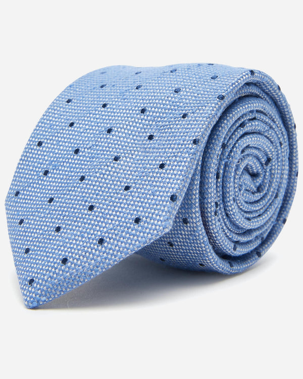 Eagar Dot Tie | Men's Business Ties - Menzclub