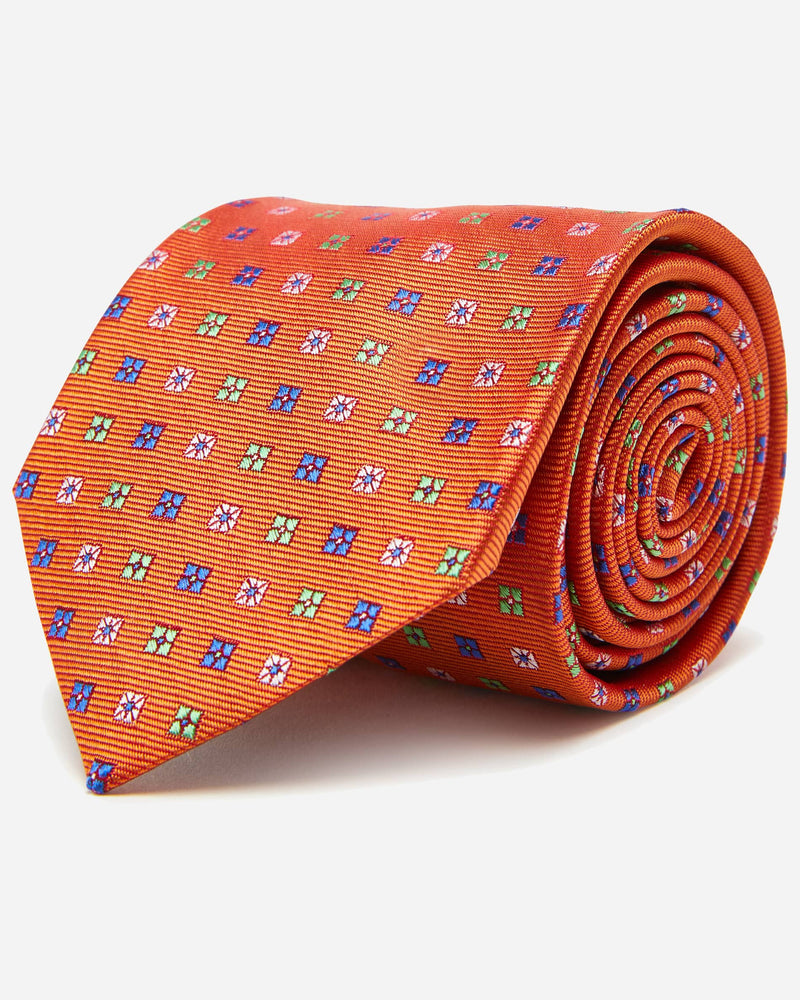 Harbour Orange Tie | Shop Men's Ties