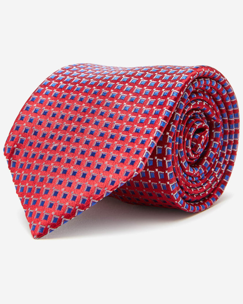 Harrington Red Tie | Men's Ties Online