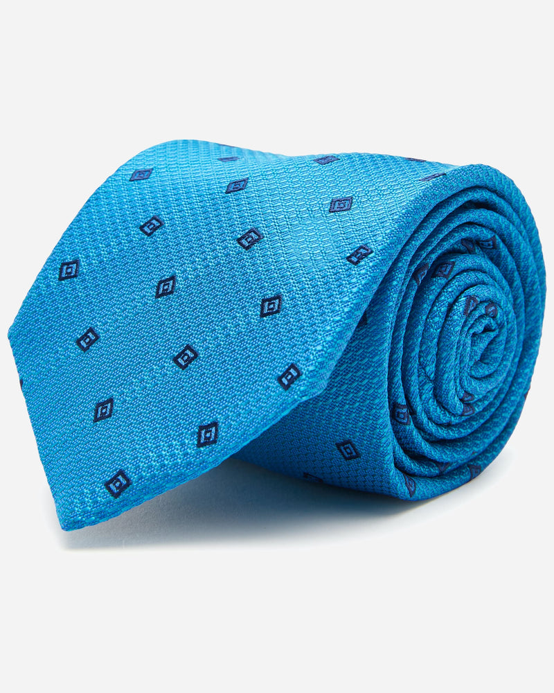 Park Teal Tie | Men's Wedding Ties