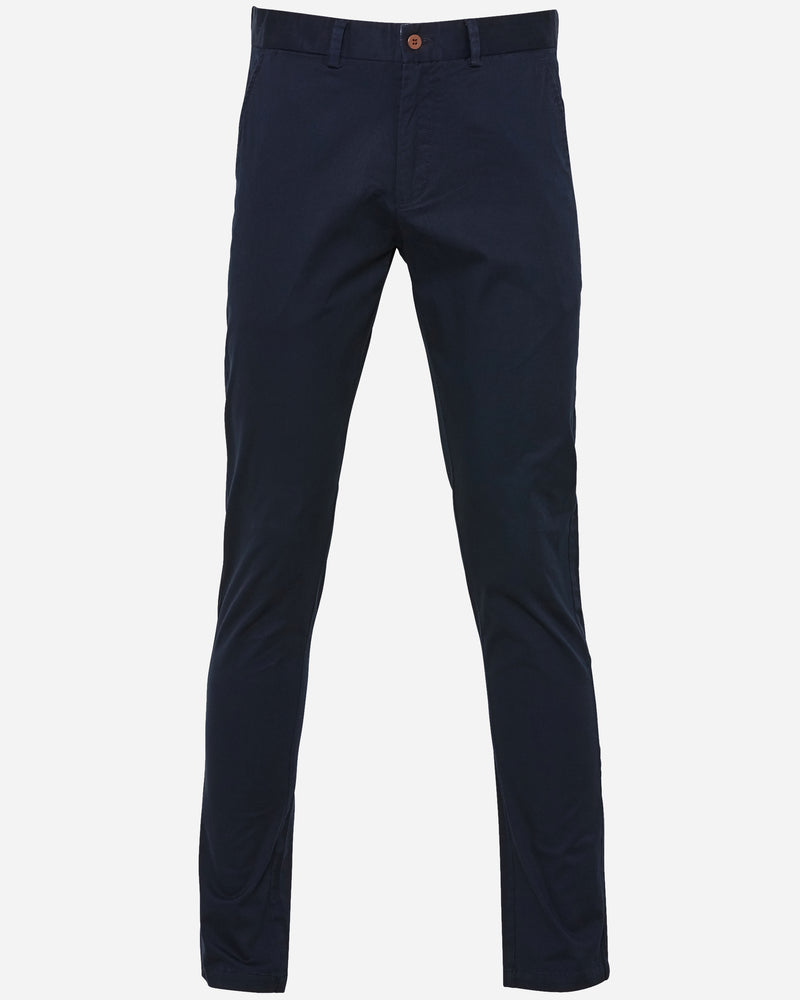 Asquith Navy Chino Pants