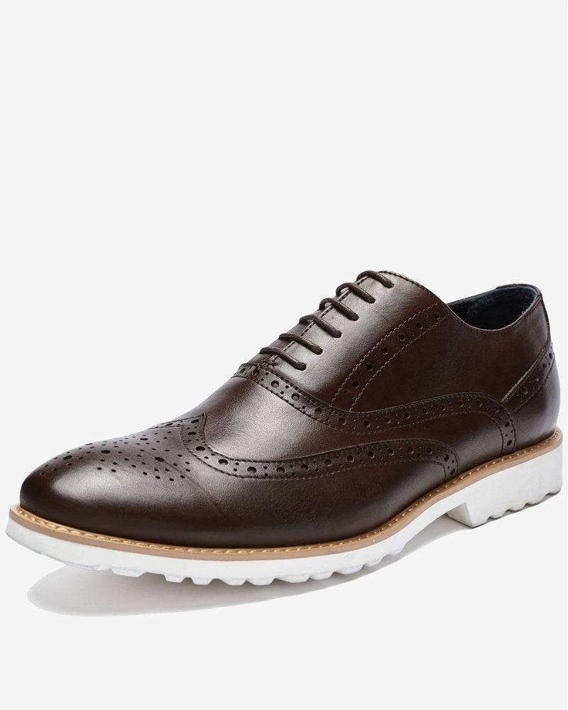 Casual Lace Up with White Sole | Men's Shoes Online