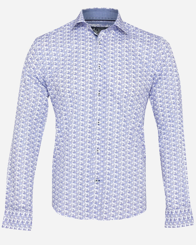 Bicycle Printed Shirt | Men's Shirts Online