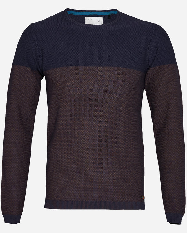 No Excess Two Tone Knit | Men's Winter Knitwear