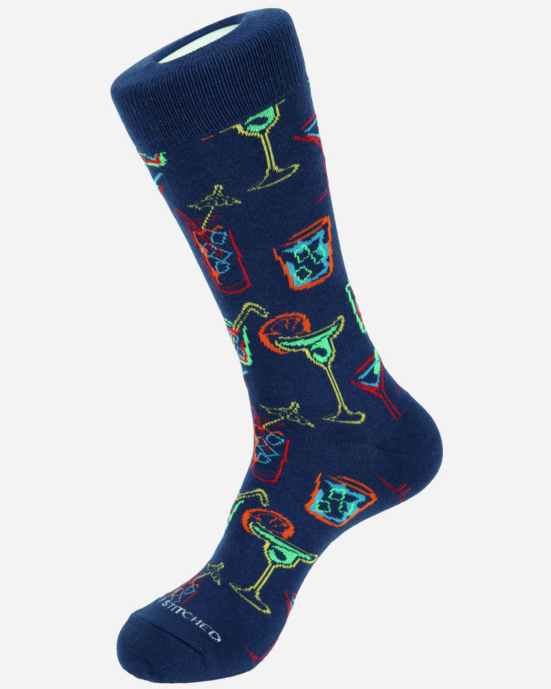 Cocktail Socks |  Socks - Menzclub