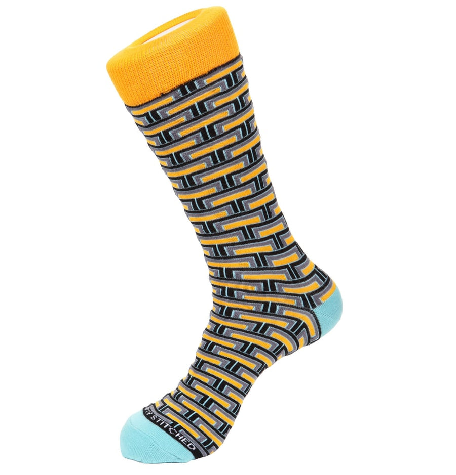 Yellow Men's Socks Online
