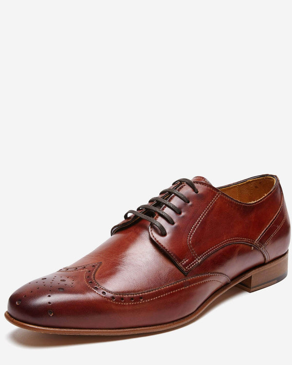 Italian Made Leather Lace Up Business Shoe
