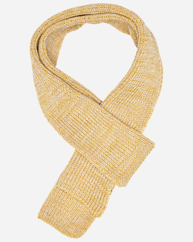 Yellow Woven Scarf |  Scarves - Menzclub