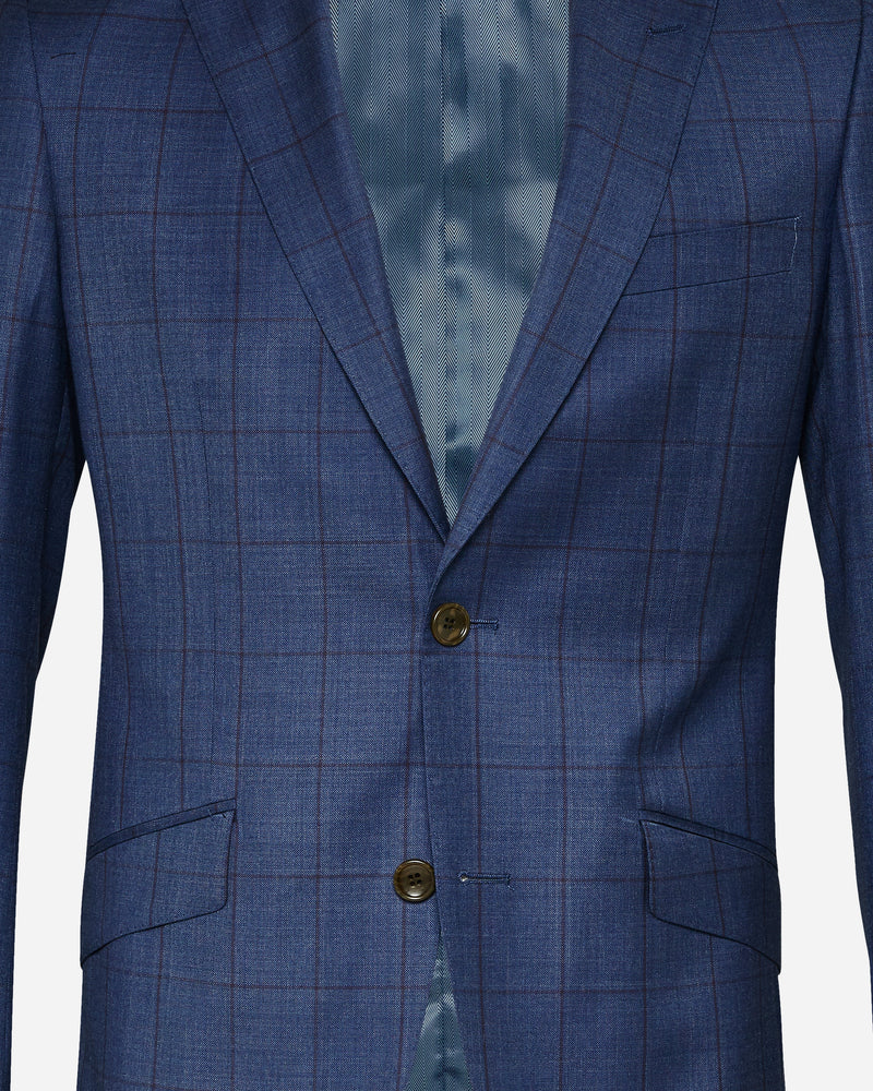 Zorilla Check Suit | Men's Wedding Suits - Menzclub