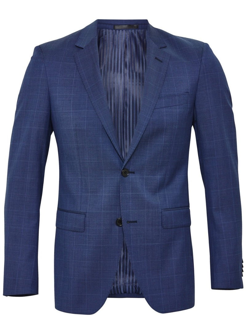 Windowpane Check Suit |  Suits - Menzclub
