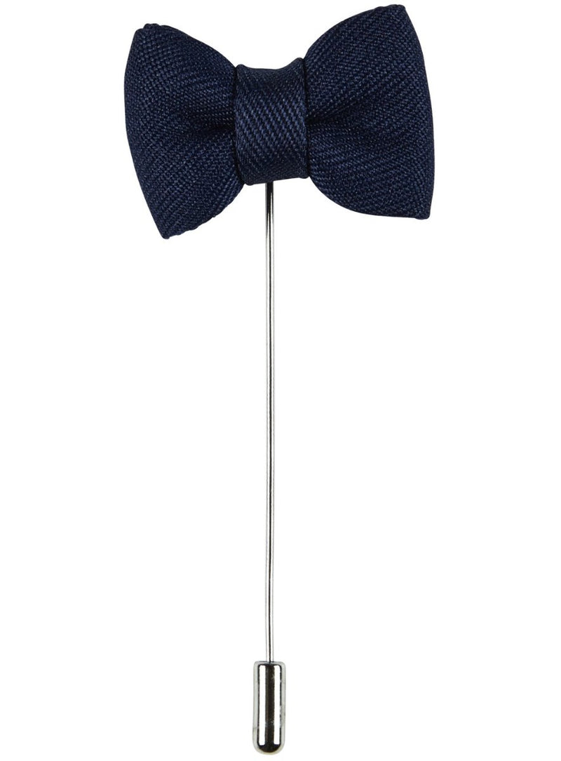 Navy Bow Pin |  Lapel Pins - Menzclub