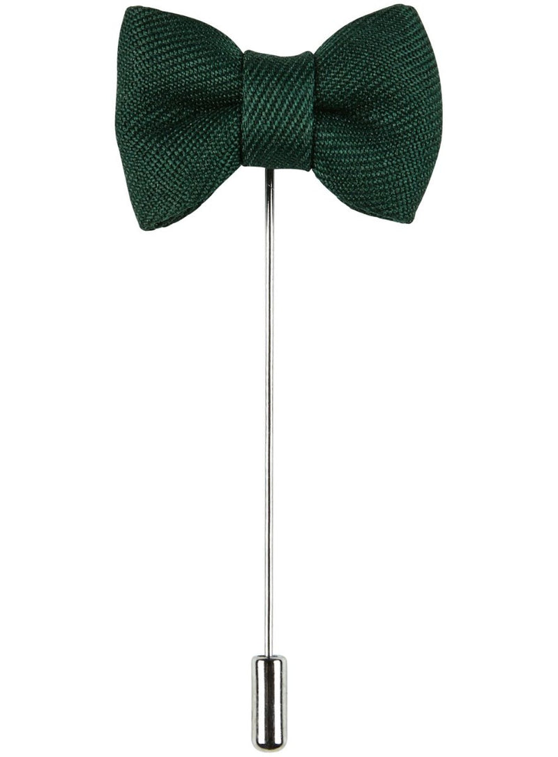 Green Bow Pin |  Lapel Pins - Menzclub