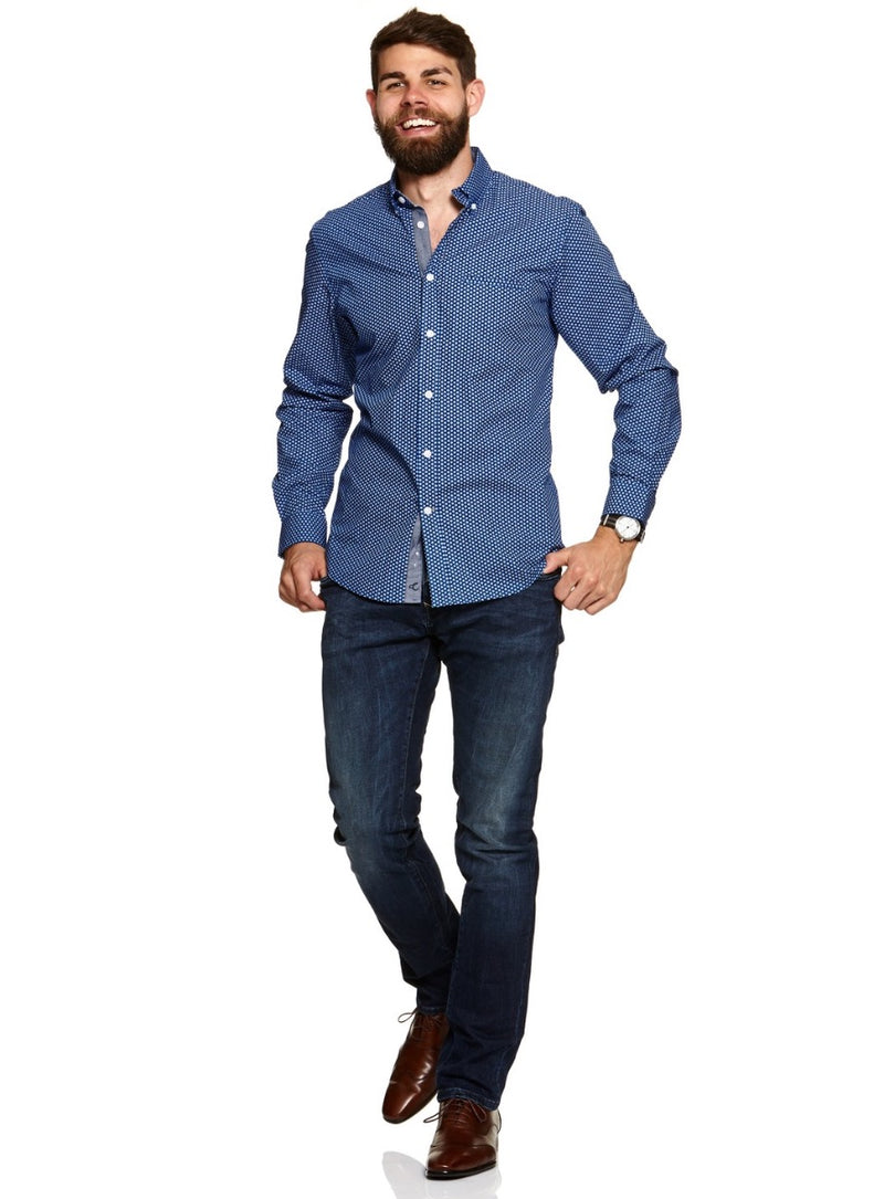Cutler Cotton Shirt |  Casual Shirts - Menzclub