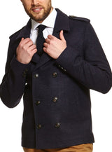 Cutler & Co Double Breasted Jacket |  Coats - Menzclub