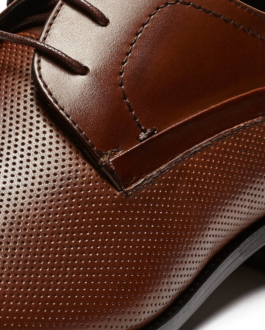 Brown Leather Business Shoe