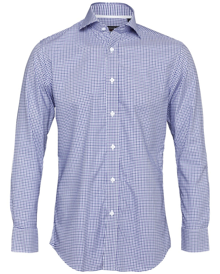 Men's Purple Checked Shirt