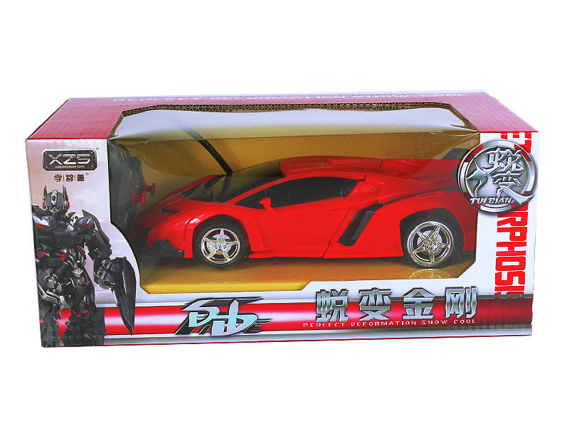 ... 2 In 1 RC Transformer Robot Sports Car  Toys  Savant Toys ...