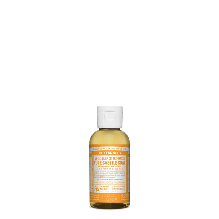 Dr Bronner's - Pure Castile Liquid Soap Citrus - 59ml