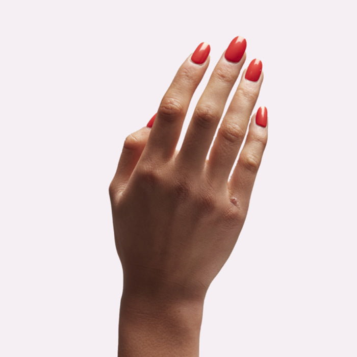 Kester Black Coral Nail Polish Is A Stunning Pinky Orange Colour It Water