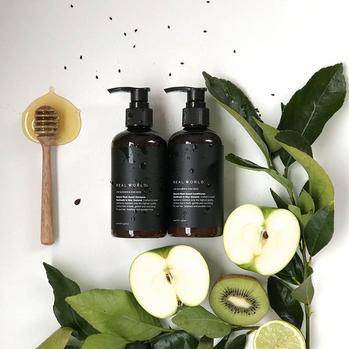 Real World - Lime Blossom & Kiwi Seed Shampoo