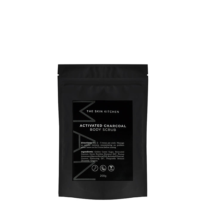 The Skin Kitchen - Activated Charcoal Body Scrub