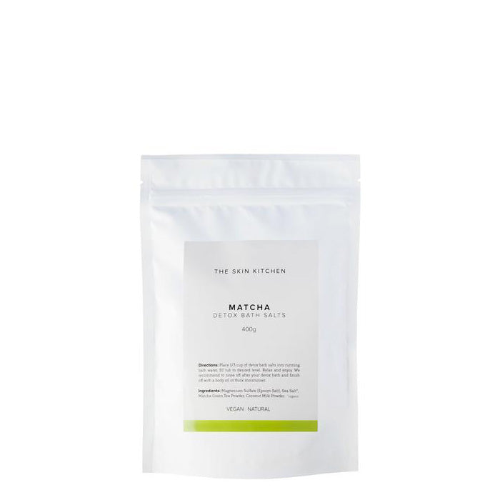 The Skin Kitchen - Matcha Detox Bath Salts