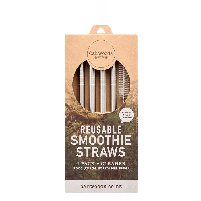 CaliWoods - Smoothie Drinking Straws