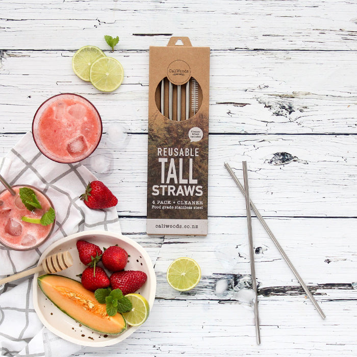 CaliWoods - Tall Drinking Straws