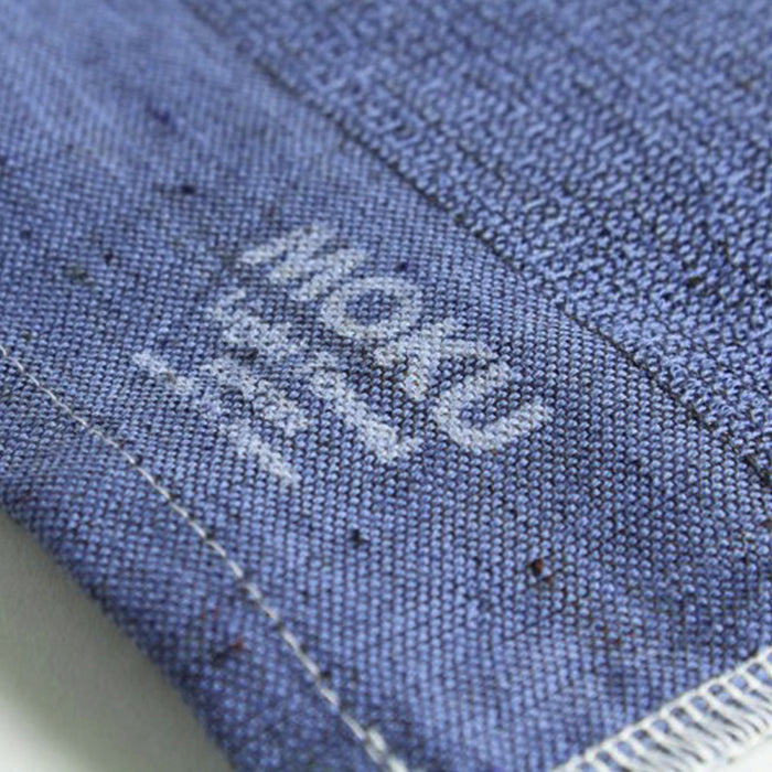 Moku Towel by Kontex is your go to towel for any active or travel situation. 100% Cotton, organic dyes and no palm oil. Highly absorbent, lightweight and quick drying, it wipes sweat away quickly and folds away small so that you can stash it in your bag. Navy, 33cm x 100cm