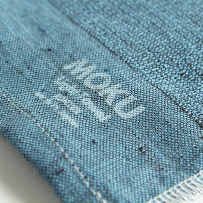 Moku Towel by Kontex is your go to towel for any active or travel situation. 100% Cotton, organic dyes and no palm oil. Highly absorbent, lightweight and quick drying, it wipes sweat away quickly and folds away small so that you can stash it in your bag. Turquoise, 33cm x 100cm