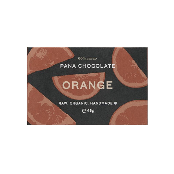 Pana Chocolate - 45g Bar - Orange