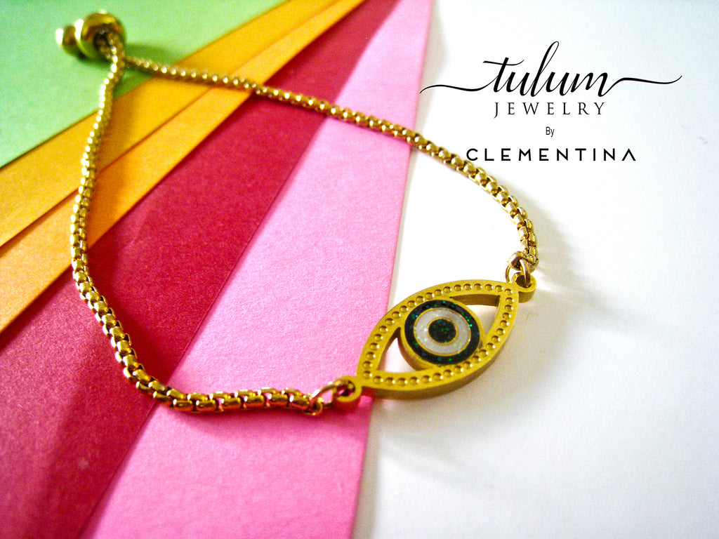 PULSERA GREEN EYE