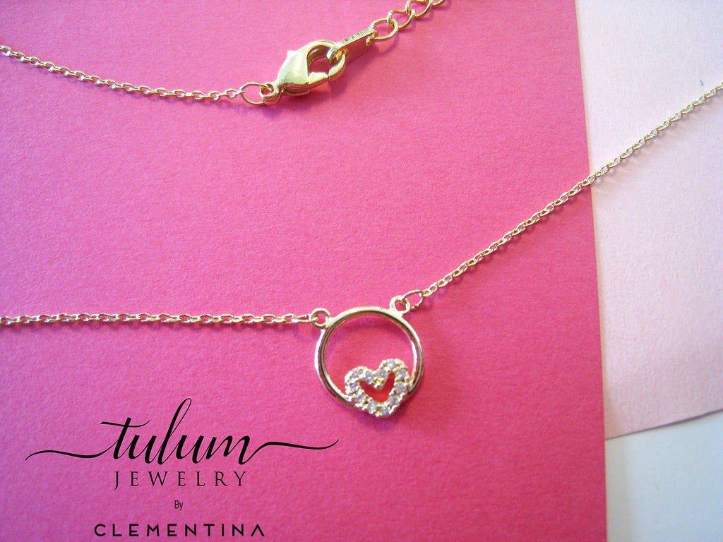 COLLAR ARO CORAZON