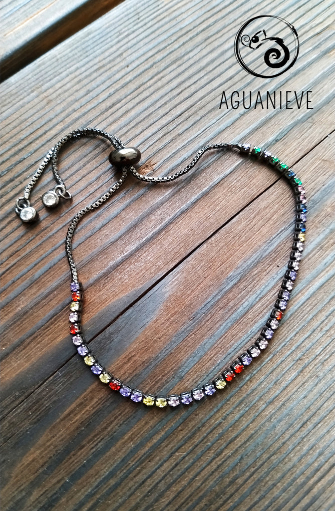 Pulsera Dark Rainbow