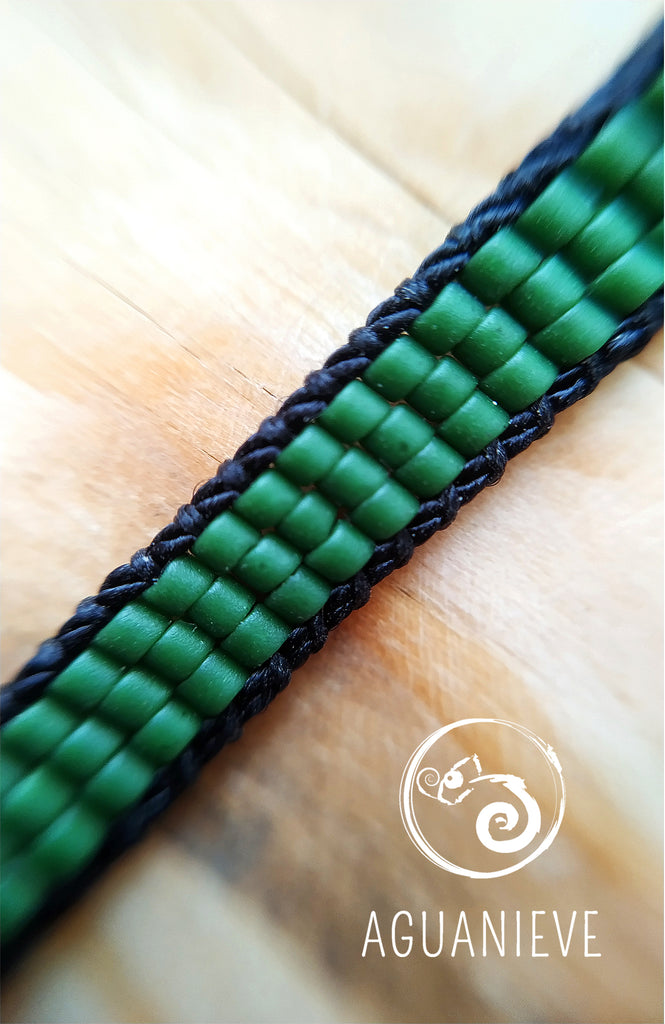 Pulsera Green DNA
