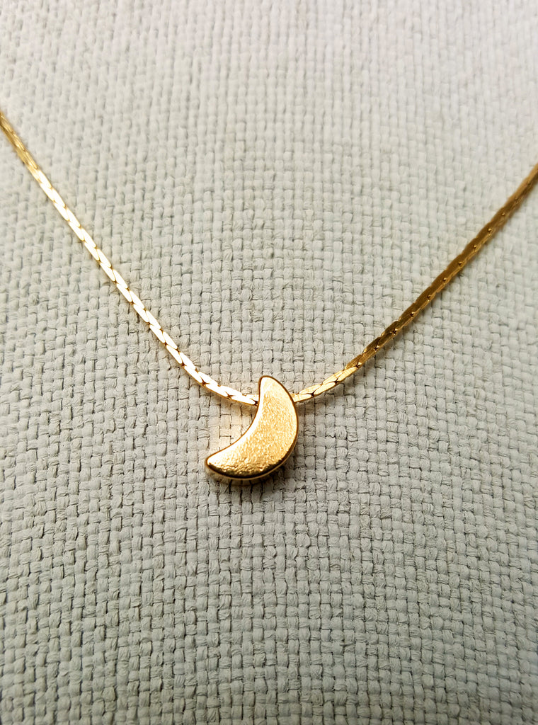 Golden mini moon