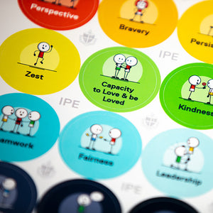 Character Strengths Stickers (picture-based)