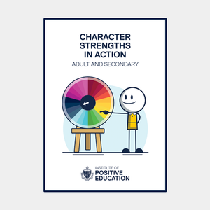 Character Strength Cards: Adult & Secondary Version (digital download)
