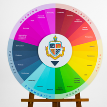 Character Strengths Wheel - Small