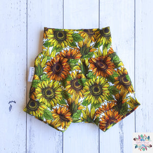 Sunflower harem shorts