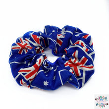 Australia Day scrunchies