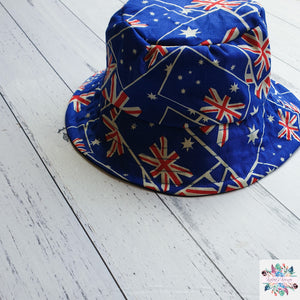 Australia Day bucket hat