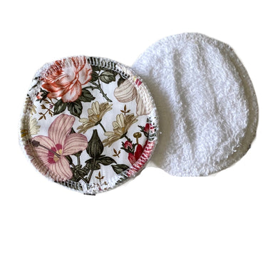 Pink Floral breast pads