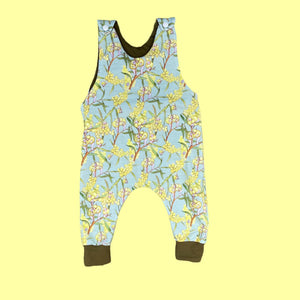 Gumnut Babies (sage) Autumn/Winter romper