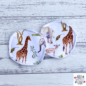 African Animals breast pads