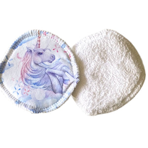Unicorn breast pads