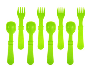 Re-Play Fork & Spoon set